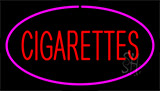 Red Cigarettes Pink Neon Sign