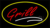Grill Yellow LED Neon Sign