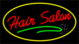 Hair Salon Red Neon Sign