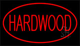 Hardwood Red Neon Sign