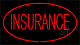Insurance Red Neon Sign