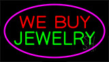 We Buy Jewelry Purple Neon Sign