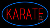 Karate Blue Neon Sign