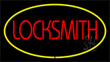 Locksmith Yellow Neon Sign