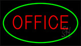 Office Green Neon Sign