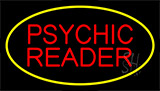 Psychic Reader Yellow Neon Sign