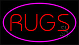 Rugs Purple Neon Sign