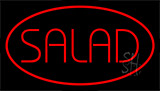 Red Salad Red LED Neon Sign