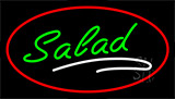 Green Salad Red LED Neon Sign