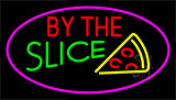 By The Slice Pink LED Neon Sign