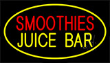 Smoothies Juice Bar Yellow Neon Sign