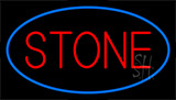 Stone Blue LED Neon Sign