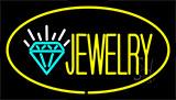 Jewelry Yellow Neon Sign