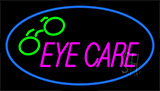 Eye Care Logo Neon Sign