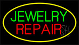 Jewelry Repair Yellow Neon Sign