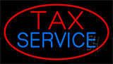 Tax Service Neon Sign