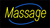 Yellow Massage Neon Sign