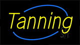 Yellow Tanning Neon Sign