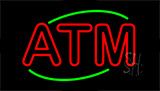 Double Stroke Atm Neon Sign