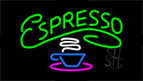 Green Espresso Neon Sign