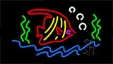 Fish Logo LED Neon Sign