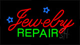 Cursive Jewelry Repair Neon Sign