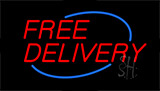 Free Delivery Neon Sign