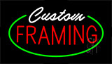 Custom Framing Neon Sign