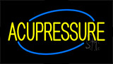 Yellow Acupressure Neon Sign