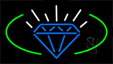 Diamonds Logo Neon Sign