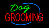 Dog Grooming LED Neon Sign