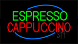 Green Espresso Cappuccino Neon Sign