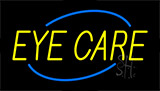 Yellow Eye Care Neon Sign