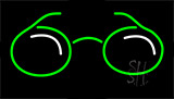 Glasses Logo Neon Sign