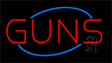 Guns LED Neon Sign