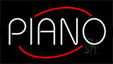 Piano LED Neon Sign