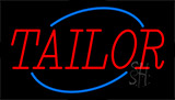 Red Tailor Neon Sign