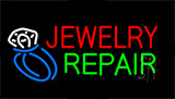 Jewelry Repair With Logo Neon Sign