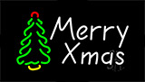 Merry Christmas Tree LED Neon Sign