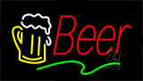 Red Beer LED Neon Sign