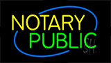 Notary Public Neon Sign