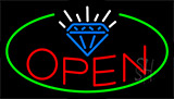 Jewelry Open Neon Sign