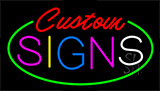 Custom S LED Neon Sign
