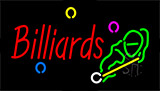 Billiards With Logo Neon Sign