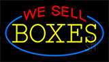 We Sell Boxes Neon Sign