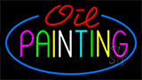 Oil Painting Neon Sign