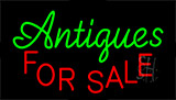 Antiques For Sale Neon Sign