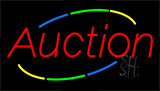 Auction Neon Sign