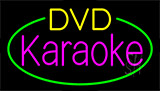 Dvd Karaoke Block LED Neon Sign