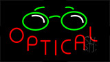 Optical With Logo Neon Sign